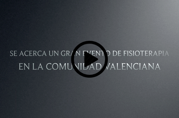 Se acerca un gran evento de Fisioterapia en la Comunidad Valenciana...