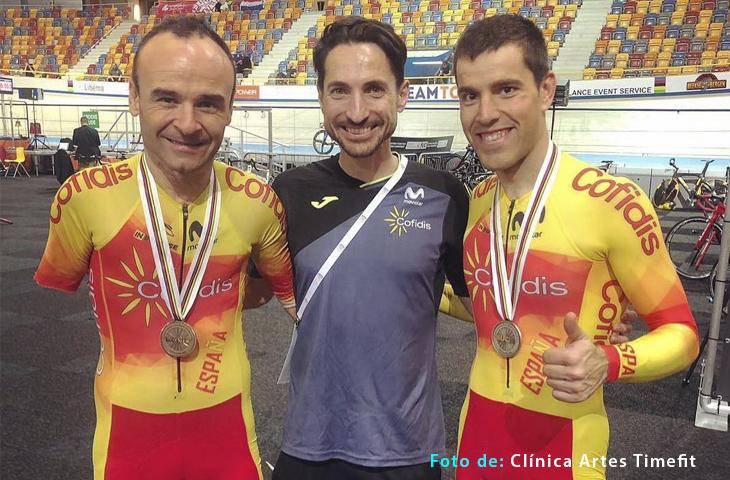 La selección española cierra un exitoso Mundial de Ciclismo Adaptado en Pista con 6 medallas