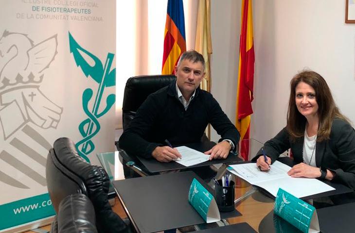 El Colegio de Fisioterapeutas y la Sociedad Valenciana de Geriatría trabajarán conjuntamente por la salud de los mayores