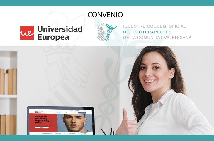 El ICOFCV y la Universidad Europea renuevan su convenio de colaboración