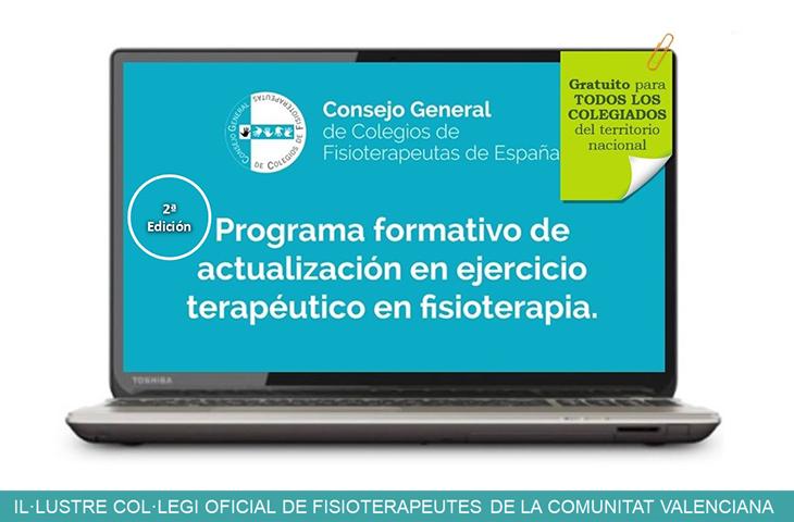 """Abierta la inscripción al curso de """"Actualización de Ejercicio Terapéutico en Fisioterapia"""""""