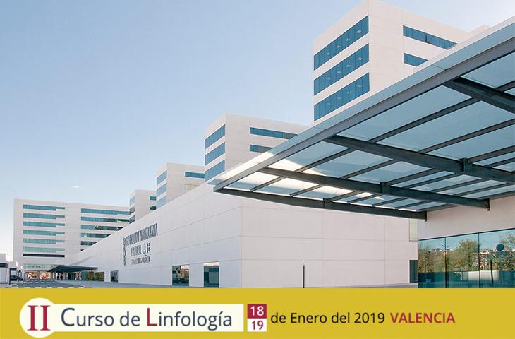 La Fe de Valencia acogerá el II Curso de Linfología los próximos 18 y 19 de enero de 2019