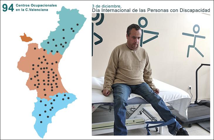El ICOFCV donará bandas elásticas a los fisioterapeutas colegiados de los centros ocupacionales de la Comunidad Valenciana