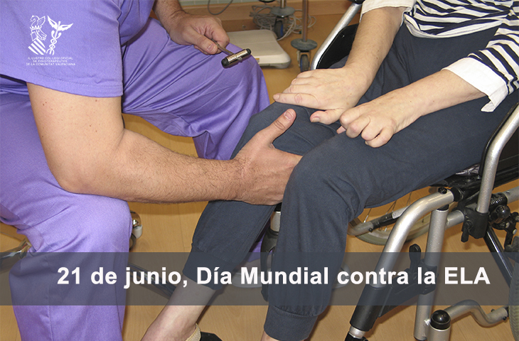 Día Mundial de la ELA, la Fisioterapia es fundamental para el cuidado de las personas afectadas
