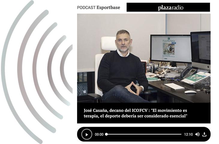"""José Casaña: """"El movimiento es terapia, el deporte debería ser considerado esencial"""""""
