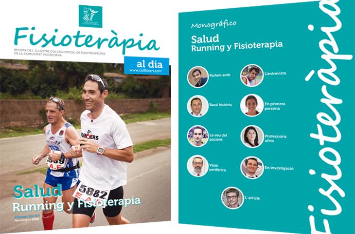"""""""Salud, Running y Fisioterapia"""", tema del monográfico del nuevo número de la revista colegial FAD"""