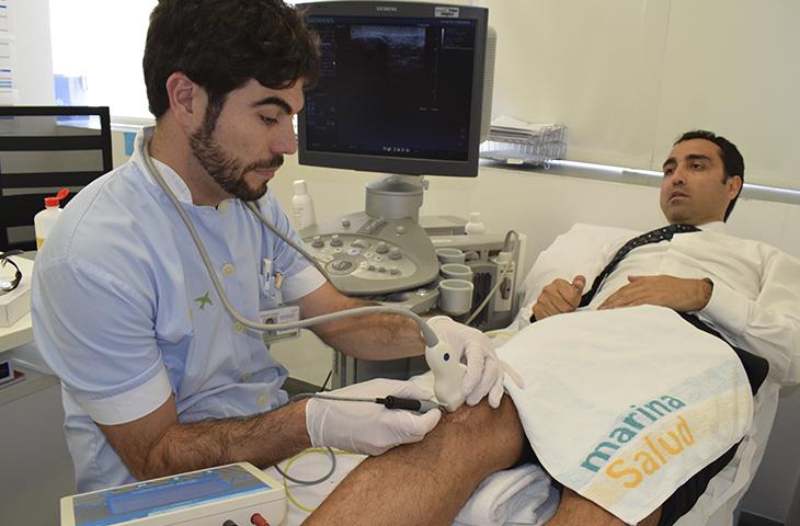 Nueva técnica para los tratamientos de tendinopatías crónicas en el área de fisioterapia en el Hospital de Dénia