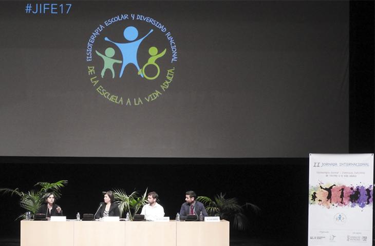 La fisioterapia escolar es vital para los alumnos con diversidad funcional, principal conclusión de #JIFE17