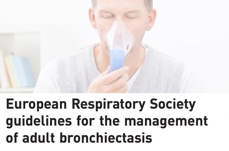 La fisioterapia respiratoria mejora el control de las bronquiectasias según un estudio publicado por la ERS
