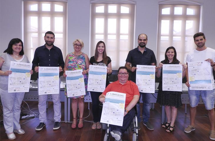 El Colegio de Fisioterapeutas de la CV presenta la IV Jornada Solidaria en el Ayuntamiento de Valencia
