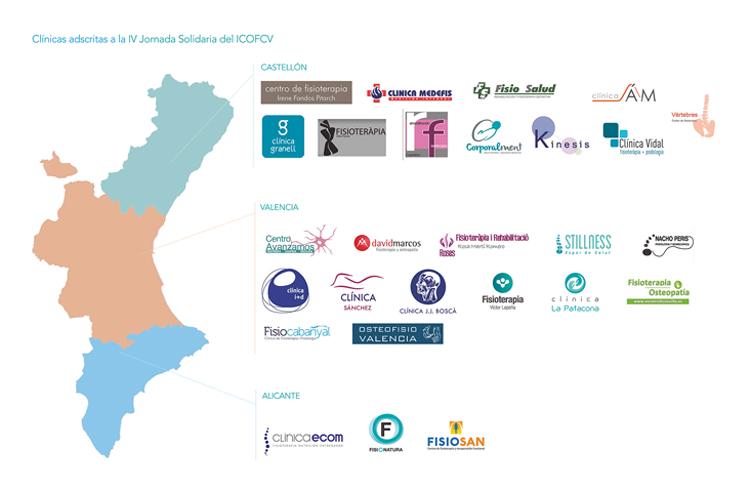 Más de 25 clínicas se han sumado ya a la IV Jornada Solidaria del ICOFCV