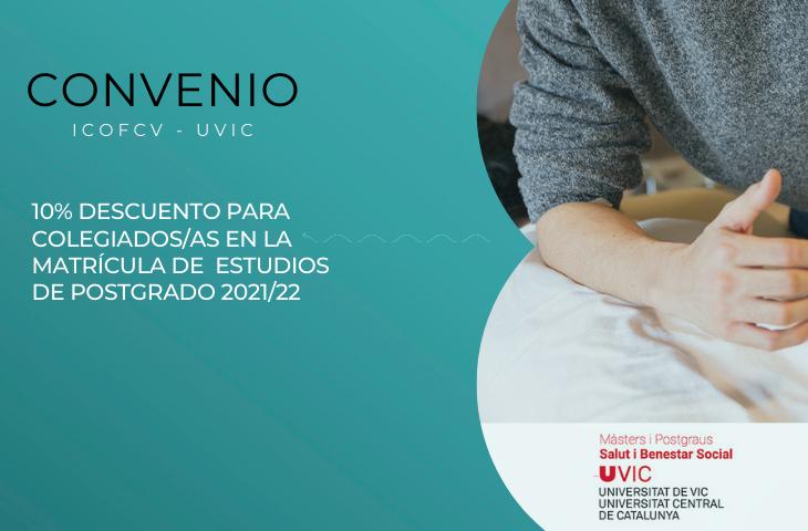 Convenio con la Universidad de Vic - Universidad Central de Cataluña
