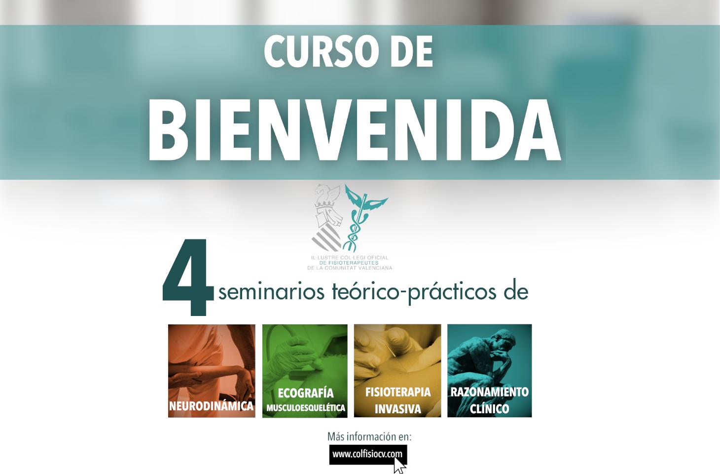 Curso Formativo de Bienvenida para los nuevos colegiados del ICOFCV