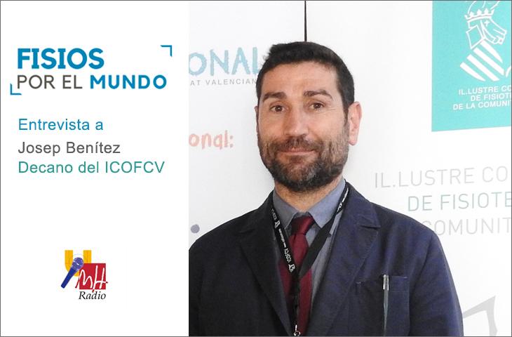 Entrevista a Josep Benítez, decano del Colegio de Fisioterapeutas de la C. Valenciana