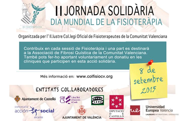 La II Jornada Solidaria del ICOFCV, a favor de la Asociación de Fibrosis Quística de la Comunidad Valenciana