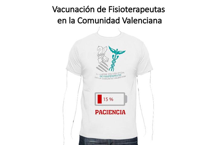 ¡BASTA YA! El ICOFCV denuncia la falta de seriedad de Conselleria y le insta a vacunar a los fisioterapeutas cuanto antes