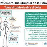8 de septiembre, Día Mundial de la Fisioterapia: toma el control sobre el dolor