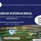 I Congreso Internacional de Medicina Deportiva, Fisioterapia y Actividad Física y Deporte 'Miclinicatop'
