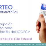 """Sorteo 1 inscripción para el  Curso """"Neuropatías"""" entre los colegiados/as del ICOFCV"""