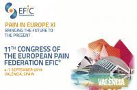Valencia acogerá en septiembre el XI Congreso Pain in Europe de la Federación Europea del Dolor EFIC®