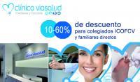 El ICOFCV firma un convenio de colaboración con el centro médico ViaSalud