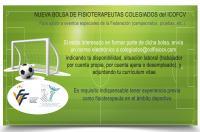 El ICOFCV abre una bolsa para fisioterapeutas colegiados que quieran asistir a eventos de la Federación de Fútbol