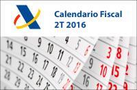 Asesoría ICOFCV: Calendario Fiscal con las declaraciones a realizar en julio, agosto y septiembre