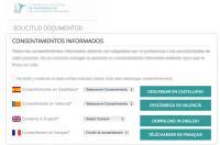 El ICOFCV pone a disposición de sus colegiados las plantillas del consentimiento informado en 4 idiomas