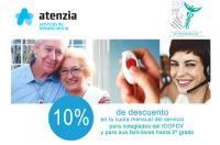 Nuevo convenio de colaboración del Colegio Fisioterapeutas (ICOFV) con Atenzia