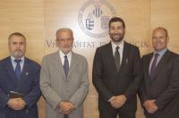 El Col·legi de Fisioterapeutes i la Universitat de València signen un conveni per a impulsar la col·laboració entre ambdues institucions