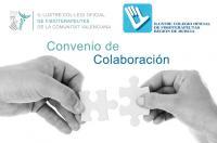 El Colegio de Fisioterapeutas de la Comunidad Valencia y el de Murcia establecen un convenio de colaboración en formación