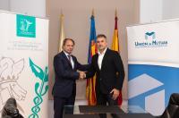 El Colegio de Fisioterapeutas de Valencia y Unión de Mutuas firman un acuerdo de colaboración