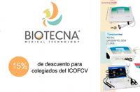 El Colegio de Fisioterapeutas firma un convenio de colaboración con Biotecna Medical Tecnology