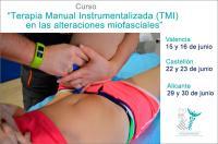 """El ICOFCV organiza tres cursos sobre """"Terapia Manual Instrumentalizada (TMI) en las alteraciones miofasciales"""""""