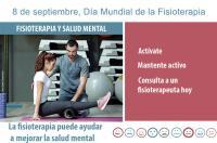 Este sábado 8 de septiembre se conmemora el Día Mundial de Fisioterapia poniendo el foco en sus beneficios para la salud mental