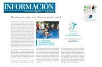 Fisioterapia y ejercicio, tándem para la salud - Colegio Fisioterapeutas Comunidad Valenciana