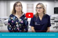 Primera serie de vídeos en YouTube para promover el ejercicio en personas con enfermedad renal crónica