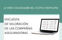 Encuesta de valoración de las compañías aseguradoras para un estudio estadístico sobre tarifas y situación actual. ¿Quieres participar?