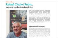 La veu del pacient: entrevista a Rafael Chulvi, paciente con lumbalgia crónica (Día Mundial contra el Dolor)