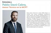 Entrevista a Pablo Davó Cabra, Asesor Técnico en la World Confederation for Physical Therapy