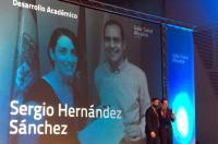 """El fisioterapeuta Sergio Hernández Sánchez, Premio """"Desarrollo Académico"""" en la Gala de la Salud de Upsana – Alicante"""