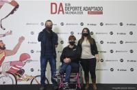 Nuestra colegiada Alma Paula Aranda, impulsora de la primera Guía del Deporte Adaptado de Valencia