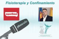 Entrevista al decano, José Casaña, en Esportbase sobre cómo continuar la recuperación y cómo prevenir lesiones durante el confinamiento