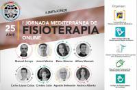 I Jornada Mediterránea de Fisioterapia online el próximo 25 de abril