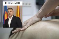 Los fisioterapeutas ante la crisis del coronavirus (periódico El Mundo CV)