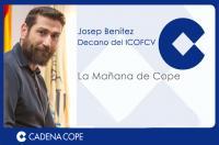 El decano del Colegio de Fisioterapeutas explica cómo llevar el bolso para evitar patologías en una entrevista en COPE Valencia