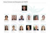 Nueva Comisión de Osteopatía del ICOFCV