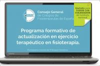"""Abierto plazo de inscripción al curso online """"Programa formativo de actualización en ejercicio terapéutico en Fisioterapia"""""""