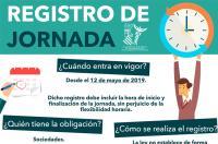El ICOFCV informa a sus colegiados: entra en vigor la obligatoriedad del registro de la jornada laboral