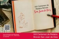 Convocada la XXI edición del Certamen de Relatos Breves 'San Juan de Dios'